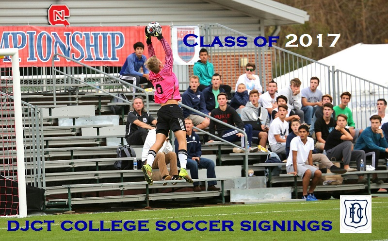 Class of 2017 - DJCT College Soccer Signings